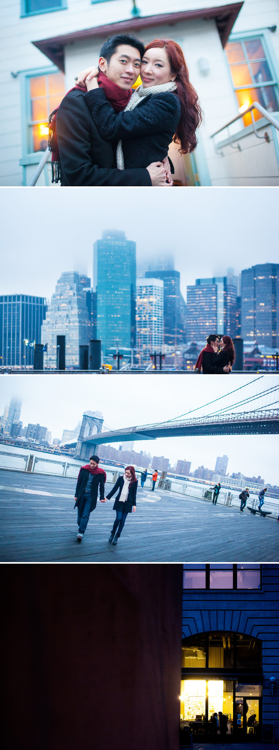 brooklyn dumbo engagement session