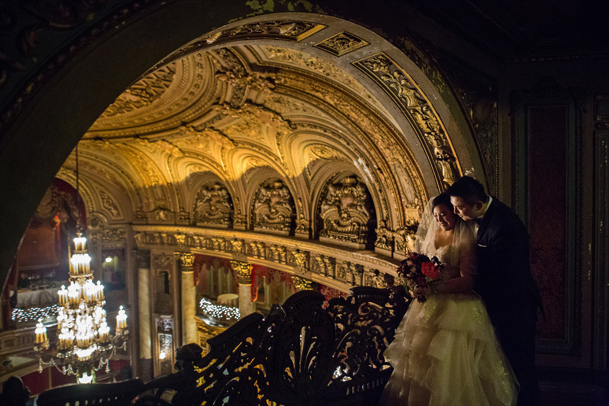 Loew's Jersey Theatre Wedding Photos