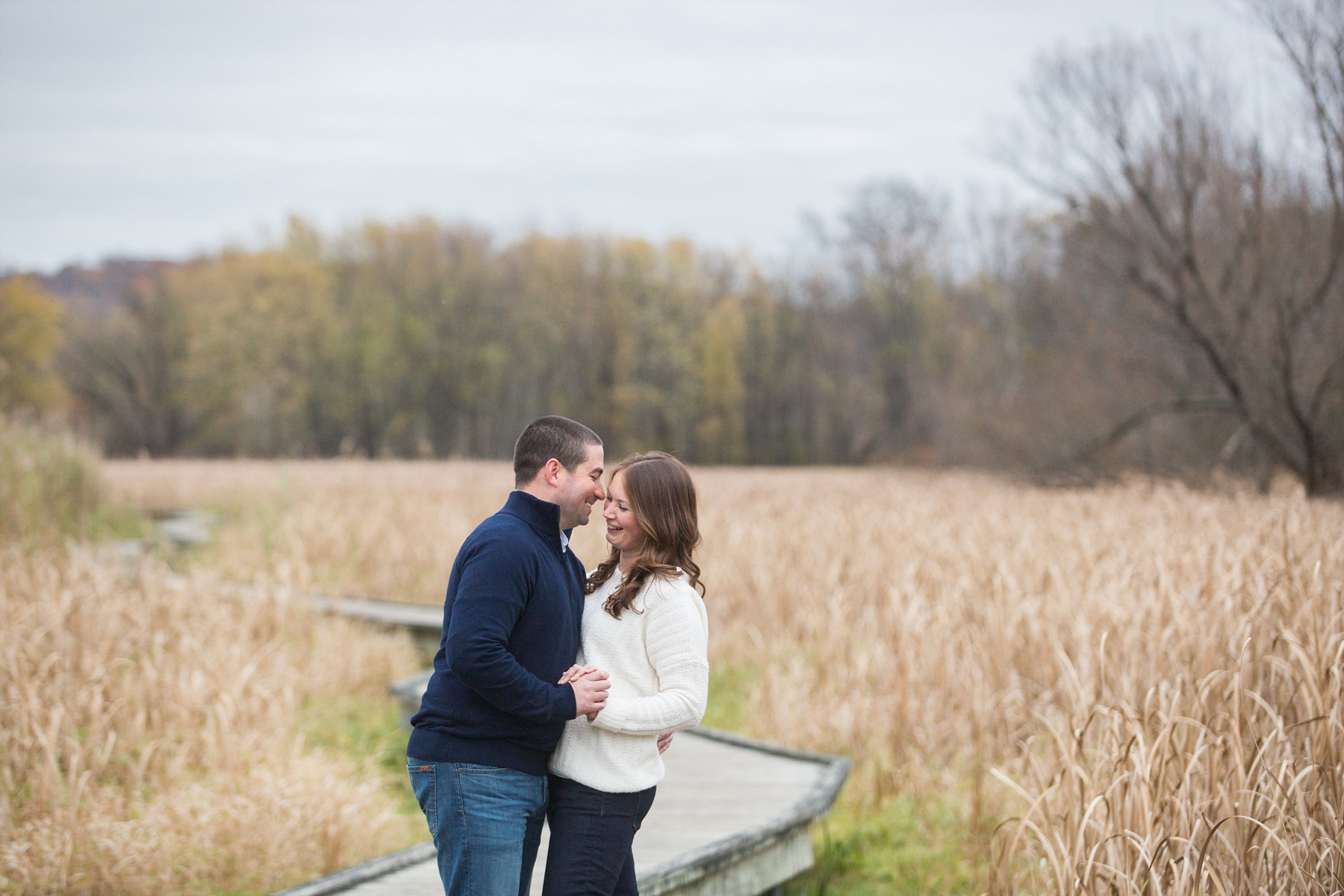 Appalachian Trail Boardwalk Engagement Photos