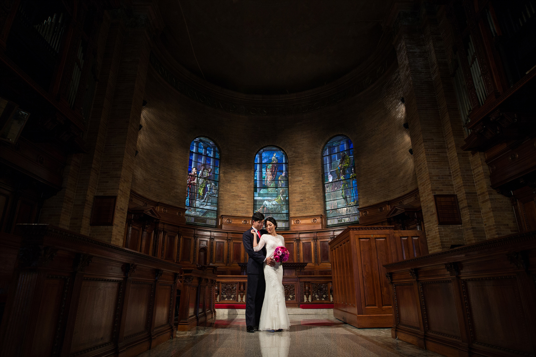 St. Paul's Chapel Columbia University Wedding