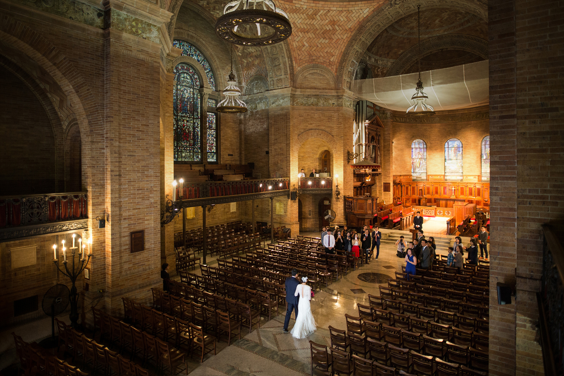 St. Paul's Chapel Columbia University Wedding