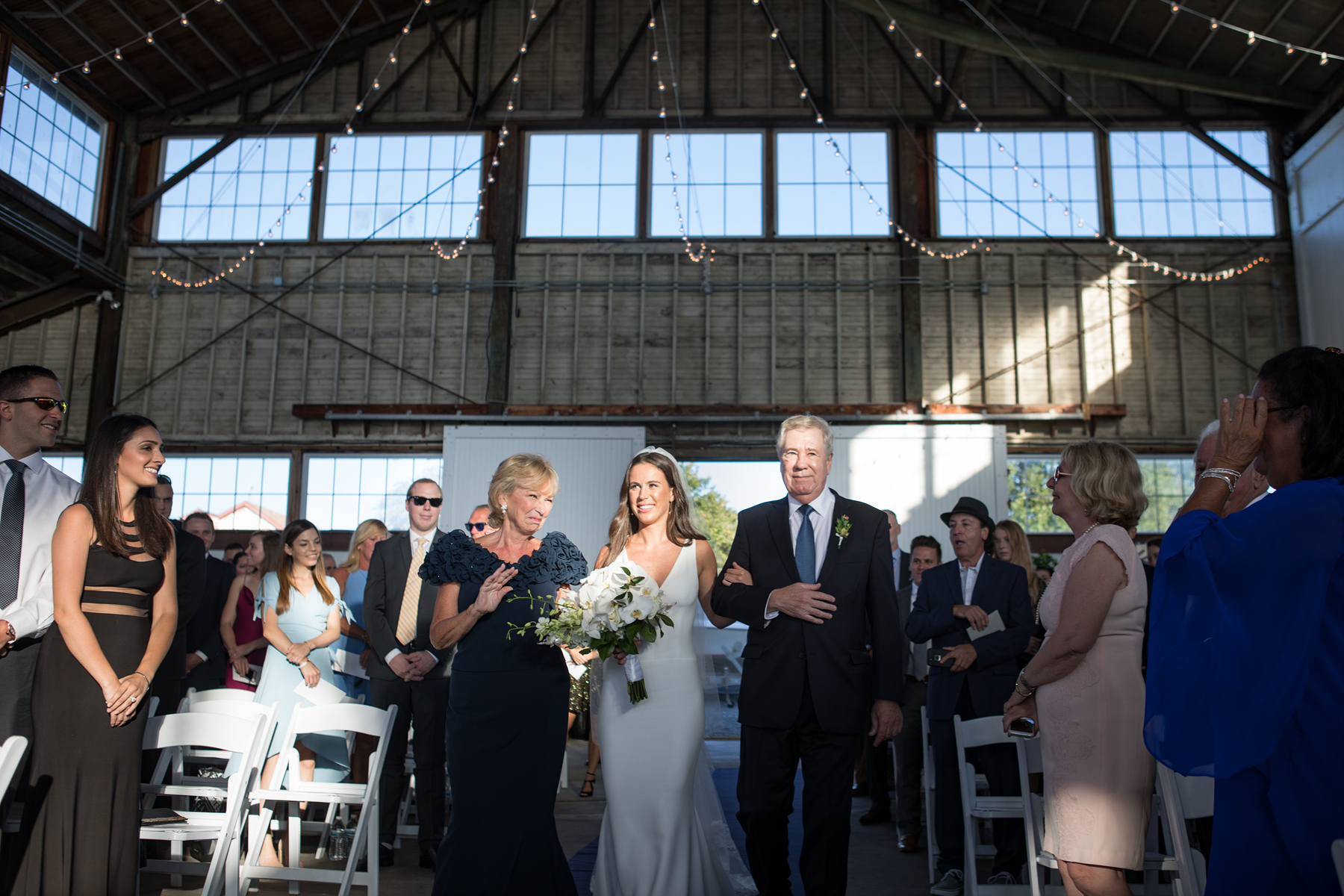 bay head yacht club wedding ceremony